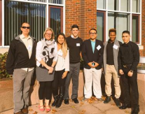 Students attended the Annual Babson Entrepreneurship Forum in Wellesley with Stacie Hargis and John Femia