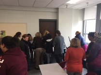NECC Active Shooter Training - Barricade Drill